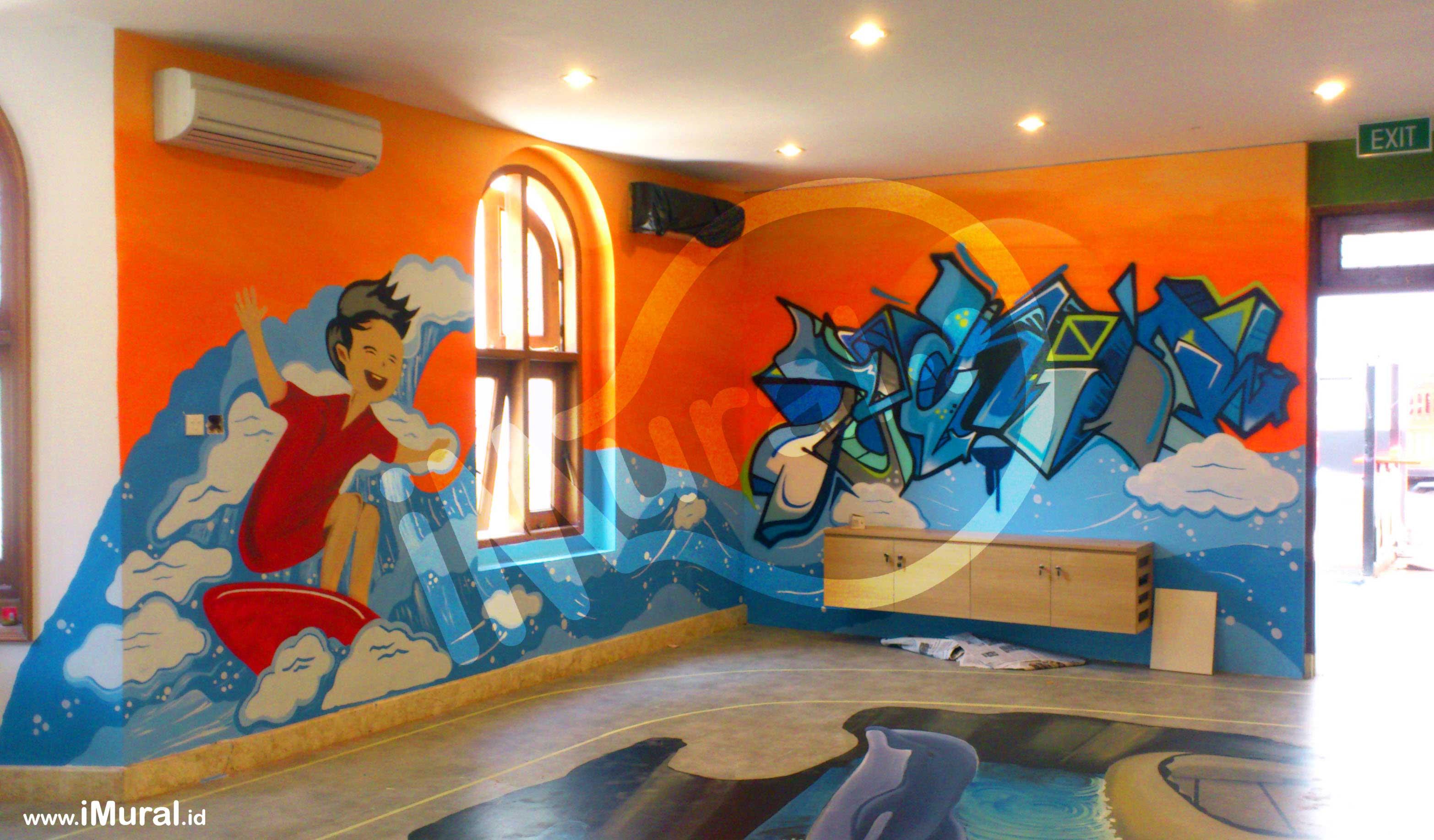Graffiti vs mural imural for Mural indonesia