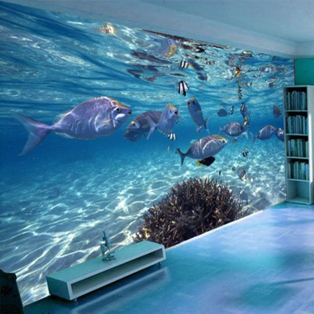 Bahasa) Ide Gambar 3 Dimensi Wallpaper Underwater Yang Menakjubkan