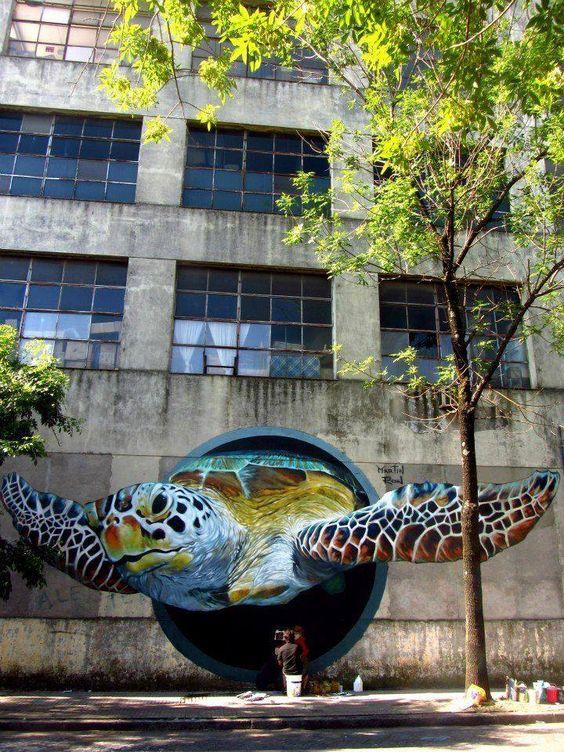 English gambar 3 dimensi mural animal yang menakjubkan for Mural indonesia