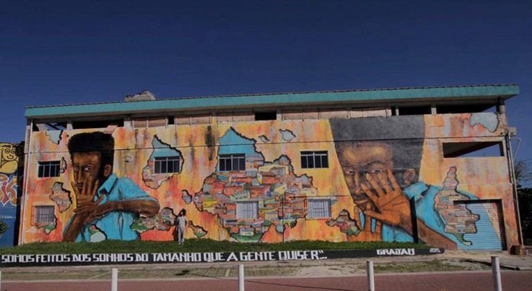 30 mural terbaik di tahun 2015 khususnya di negara brazil for Mural indonesia